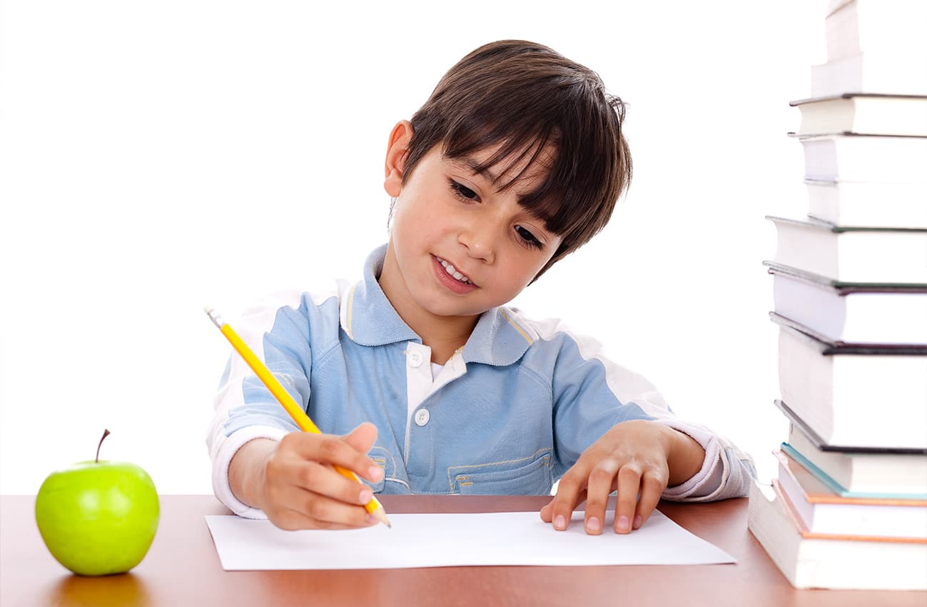 smart-kid-writing